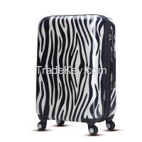 WAO fashion tsa lock , spinner wheel 3 in 1 travel luggage set
