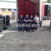 Quality part worn tyres in bulk