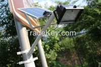 Newest Solar light 10W126LED Intelligent remote control Discharge solar light Light-pperated lamp Solar street light
