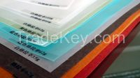 Glassine release paper with silicone coating to directly supply by factory colors and specification as request