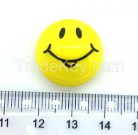 high quality yellow emoji plastic magnets white board magnet supplied