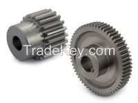 0.5~20 module ground spur gear