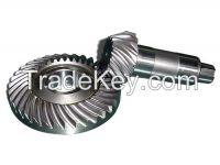 Gound spiral bevel gears