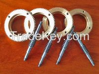 Precision worm and worm gear