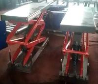 SDN-SUG-3.5 Install under ground scissor car lift auto hoist elevator car jack for auto repair