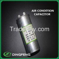 aluminum shell metallized polypropylene film cbb65a-1 capacitor