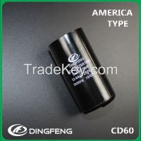 cd60 motor starting capacitor 10/55 250V