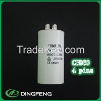 polypropylene capacitor CBB60 capacitor for ac motor