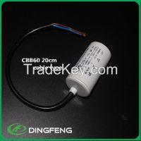 metallized polyester film cbb60 sh motor run capacitor