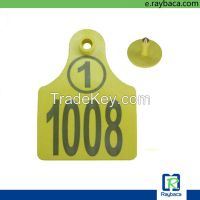 cattle cow sheep goat RFID electronic identification ear tag with ISO11784/5