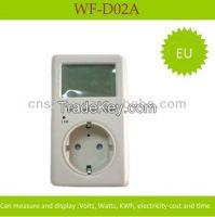 AC multifunctional single phrase digital meter for energy saving