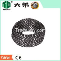 Diamond Wire Saw For reinforced concrete approved sintered diamond wir