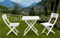 KD Outdoor budget synthetic rattan and wooden garden furniture set