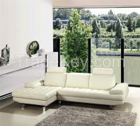 Italian leather sofa with European style and modern design