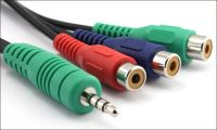 DC3.5 TO RCA CABLE