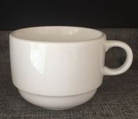 white porcelain coffee cups