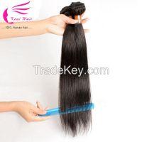 Raw Unprocessed Straight Virgin Peruvian Hair Dropship Hair Hair Weave , Crochet Braids With Human Hair, Human Hair Extension
