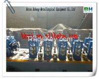 Welded pipe equipment production line