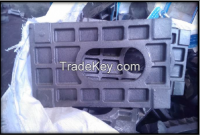 Stretch forming plate