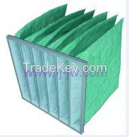 HVAC Air filter, Nonwoven Pocket Filter Bag, Synthetic Bag Air Filter