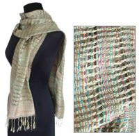 Exclusive silk scarf & shawl from Thailand
