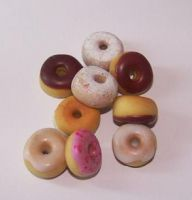 Sweet Donuts Charms
