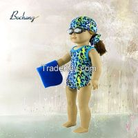 Bocheng doll clothes manufacturer 18 inch swimming doll clothes