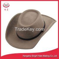 Wool Felt Fedora hats Cowboy Hats