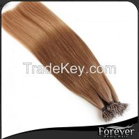 Forever factory real remy hair 18inch nano ring hair extensions