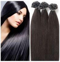 Forever Fast shipping hair extensions nail tip hair  18in 0.8g/s colors in stock