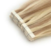 Forever best quality hair extensions tape hair 18inch,colors in stock
