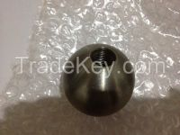 tungsten ball with threaded hole