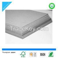 grey board paper grey paperboard/grey cardboard for gift packaging box&bag etc