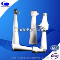 Wear Resistant Alumina Ceramic Cone-shaped Tubes for pulp cleaners