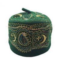 100% wool felt muslim cap oman cap islamic hat traditional clothing prayer cap