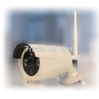 LS Vision 4CH H. 264 HD Wireless WiFi Mini NVR Kit with 4pcs 720P IR Night Vision P2P IP Camera for Home/Office