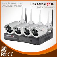 Ls Vision H.264 home security 1080p 4ch Wifi Nvr Kits cctv camera 2 years warranty(LS-WN9104)