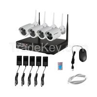 LS Vision 1080P Wifi NVR  Kit 4ch Wifi Wireless Camera System high quality (LS-WK9104)