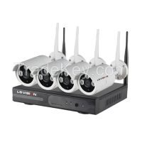 Ls Vision Wireless Hd Nvr Kit 1080p 4ch Wifi Nvr Kit Signal Range 120 Meters full range Outdoor Camera (LS-WN9104)