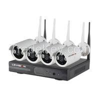 Ls Vision Wireless Hd Nvr Kit 1080p 4ch Wifi Nvr Kit Signal Range 120 Meters full range Outdoor Camera (LS-WN9104)