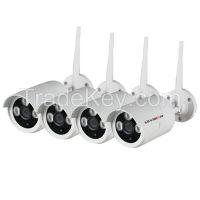 LS Vision Hd H.264 P2p 960p 8pcs Bullet Waterproof Wifi Ip Camera Wireless Nvr Kit Cctv Kit 8 Camera ( LS-WK8108)