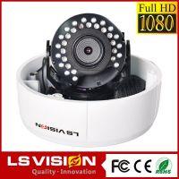 LS VISION vandalproof dome camera 3 megapixels super wdr ip camera