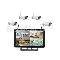 LS Vision Ls Vision 2015 New Design 1.3mp Security Cam 2.4ghz Wireless Camera 8ch Wifi Nvr Kit ( LS-WK8108)