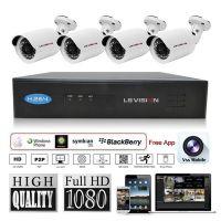 LS Vision office security nvr ipc kit,nvr kits cctv camera system,network video recorder kits