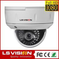 LS VISION 2mp 1080p 30 meters ir distance ahd dome camera