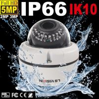 LS VISION D-WDR IP camera with MJPEG vandalproof dome housing