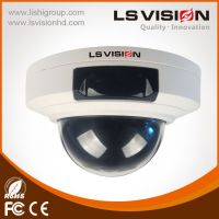 LS VISION Mini 1.3 Megapixel Fixed Lens 3.6mm IR Cut Waterproof IP66 Vandalproof Dome IP Camera with PoE
