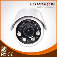 LS Vision Outdoor H.265 / HEVC 4MP Varifocal Lens IR POE IP Bullet Camera (LS-VHD401W-P)