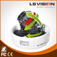 LS VISION 30 meters IR distance 5mp dome housing ip camera