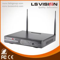 LS VISION 4CH WIFI NVR stable network 2.4G wireless signal